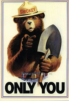 This poster adorned my bedroom door growing up for as long as I can remember.