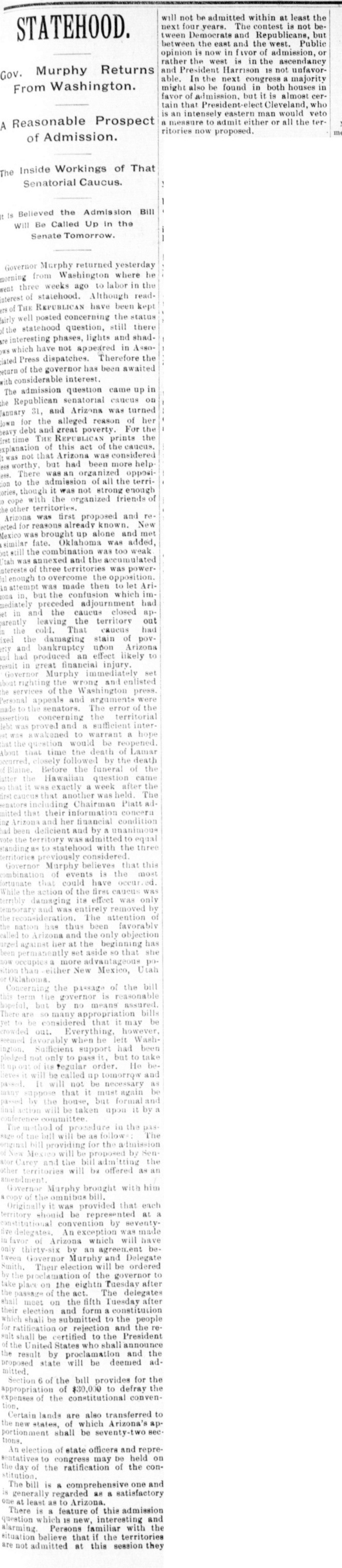 RepublicanMurphyStatehood1893-02-10
