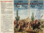 Arizona State Highway Commission Road Map,  1940.