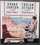 Grand Canyon and the Indian Empire, Santa Fe Trailways, ca. 1940s